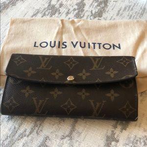 Used Authentic Monogram Louis Vuitton Wallet